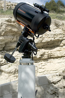 Telescopr mounted