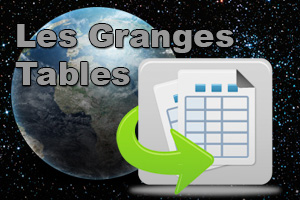 Les Granges Rise, Set and Twilight Tables